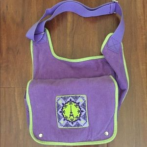 Charlotte's Messenger bag from:Beacon Street Girls